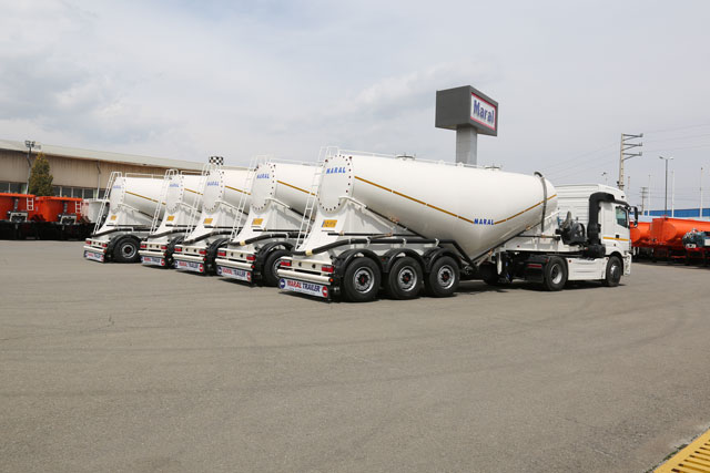 Cement Bulker Trailer